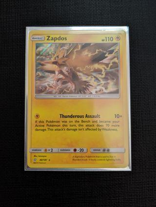 Pokemon Team Up Zapdos