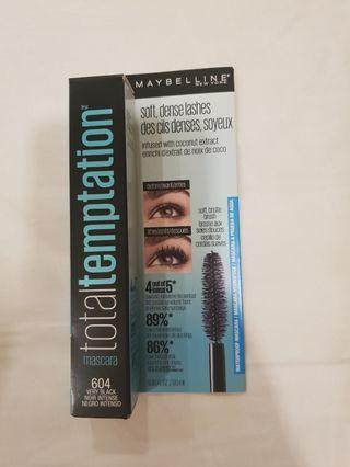 Total temptation Maybelline mascara