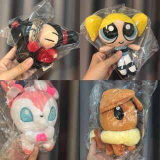 麥當勞老物玩具 McDonald's 迪士尼 老物收藏 中國娃娃 飛天小女警 神奇寶貝 玩偶 娃娃