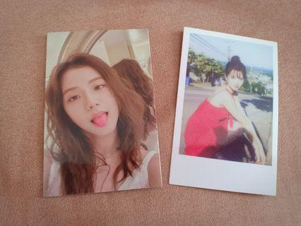WTT JISOO SUMMER DIARY PHOTOCARDS