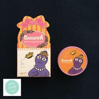 BARBAPAPA Epona Orange Lip Balm