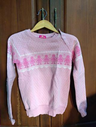 Sweater Pink Girly