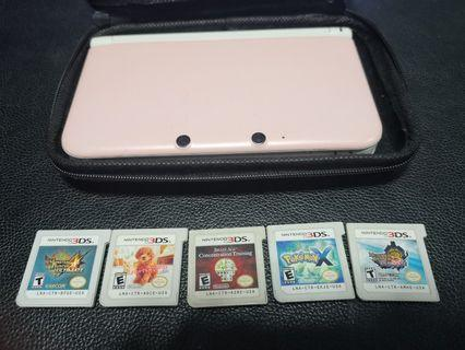 Nintendo 3DS XL with 5 GAMES! Free Delivery!