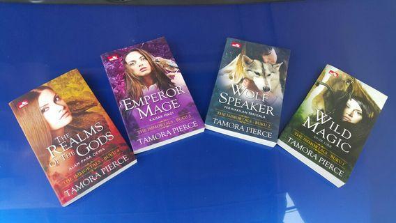 Novel The Immortals 4buku