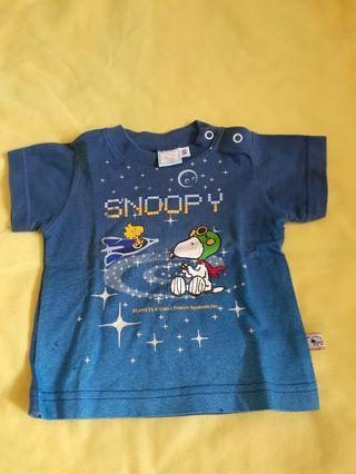 Kaos baby snoopy