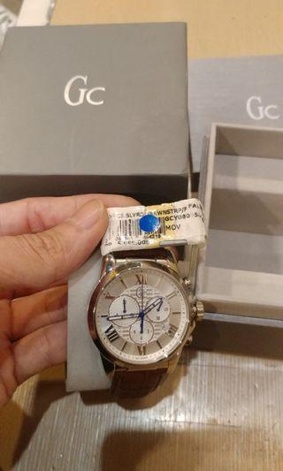 Original Jam tangan GC Esquire Leather Watch Guess Collection