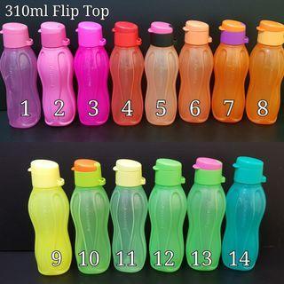 Tupperware Mini Eco Bottle 310ml Flip Cap Retail Price S$9.20 each
