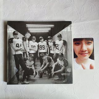 ALBUM EXO LOVE ME RIGHT BAEKHYUN PHOTOCARD