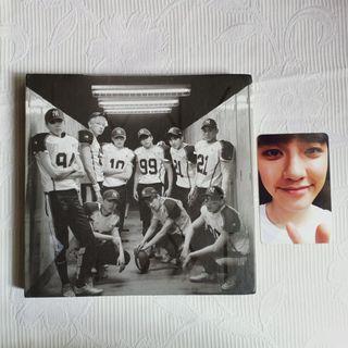 ALBUM EXO LOVE ME RIGHT D.O KYUNGSOO PHOTOCARD