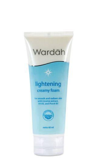Wardah facial foam