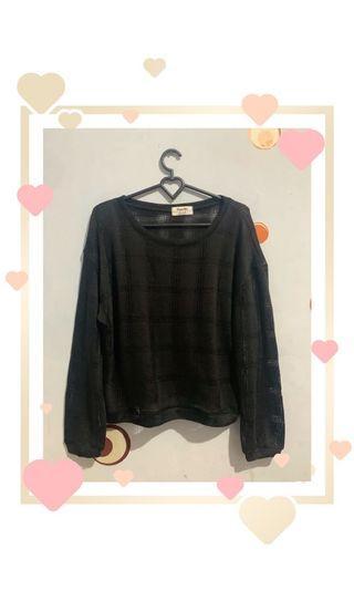 Sweater Rajut Black
