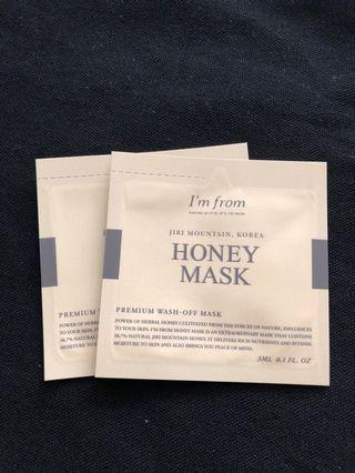 I'm from honey mask #MRTSerangoon