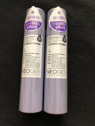 CLEARANCE! Neogen serum spray o2 energy power #MRTSerangoon