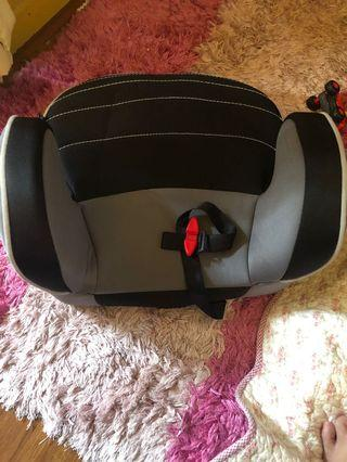 Booster seat and car seat