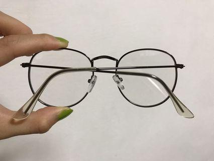 復古文青裝飾眼鏡