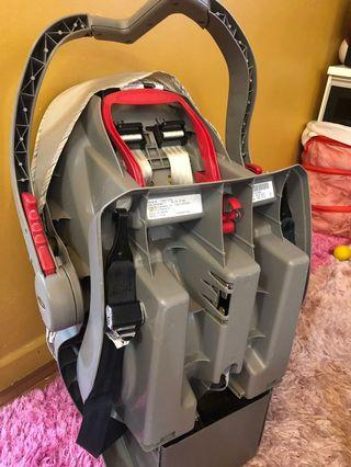 Baby carrier with car seat