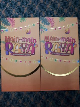Angpao packet sampul duit raya Jaya shopping