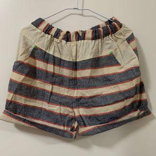 二手 復古條紋褲