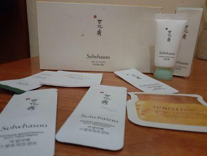Sulwhasoo Basic Kit + mask + sample