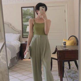 港風針織背心/Knitted camisole