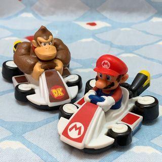 瑪利歐 Mario 大金剛 麥當勞 賽車 兩入
