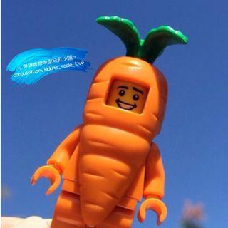 Carrot  Man  Mini Figures  🥕 胡蘿卜人仔