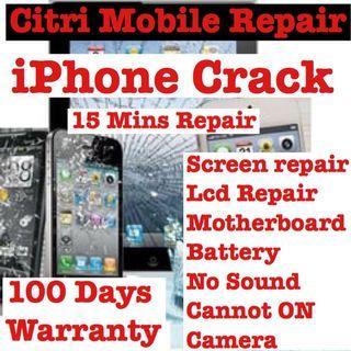 iPhone Screen Battery LCD Repair, Samsung Huawei Repair
