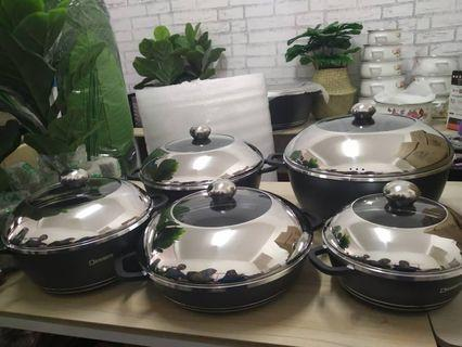 DESSINI PCS SET COOKWARE
