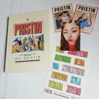 ALBUM PRISTIN HI PRISTIN FIRST MINI ALBUM FULLSET EUNWOO PHOTOCARD
