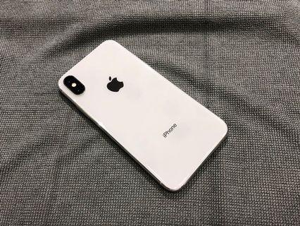 iPhone X 256G 銀色 白色