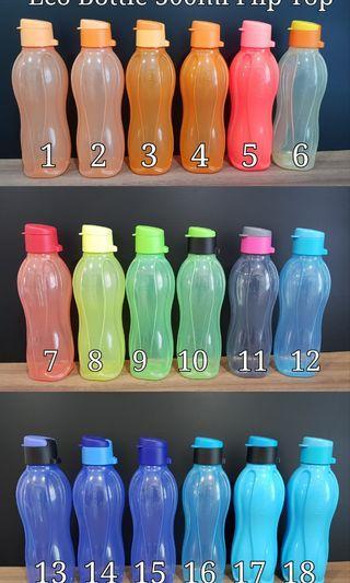 Tupperware Eco Bottle 500ml Flip Top Retail Price $10.50/each