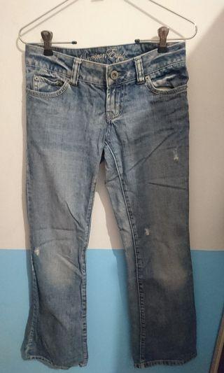 American Eagle淺色牛仔褲(0號)