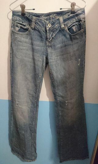 American Eagle淺色牛仔褲(2號)