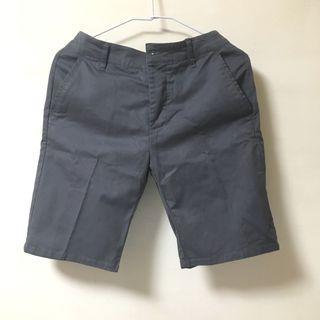 asos slim chino shorts in dark blue 深藍色合身休閒短褲