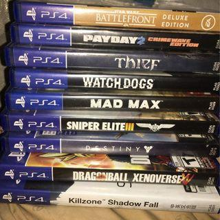 Tip Top Used Playstation 4 Games for Sales