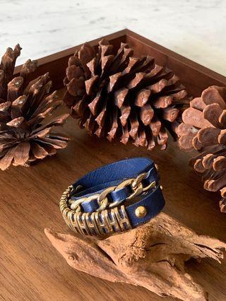 寶藍金色手環 首飾 手鐲