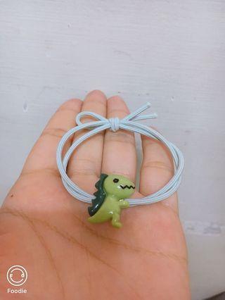小恐龍髮圈/可愛髮圈
