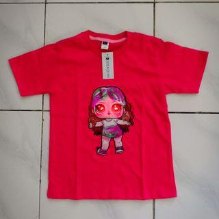 Kaos anak LOL LED Fanta