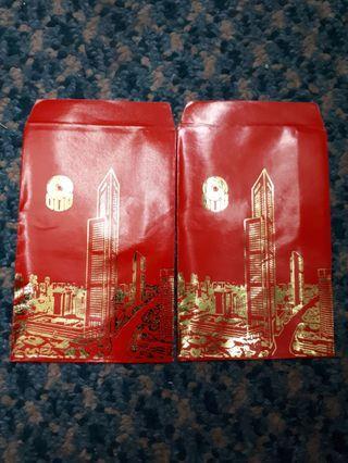 Angpao red packet sampul cny Overseas Union Bank