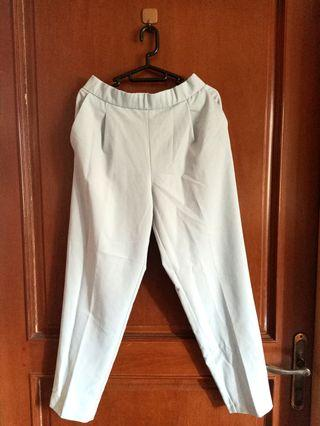 Pull &Bear Pants Light Blue