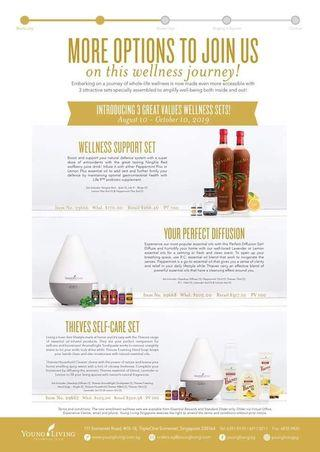 New Young Living Wellness Sets
