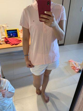 TOMMY近全新polo衫(女)