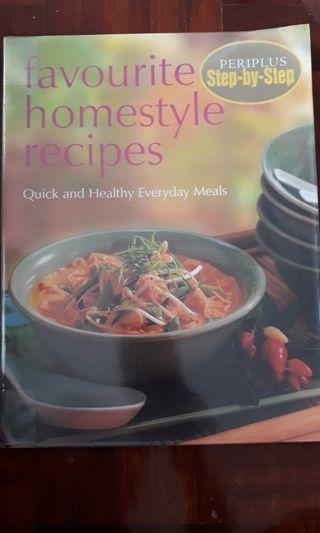 Recipe book: Favourite Homestyle Recipes