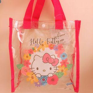 hello kitty時尚透明提袋