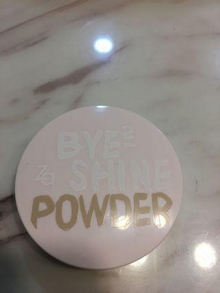 ZA 清透蜜粉餅 SPF15裸膚色 8g 9成新