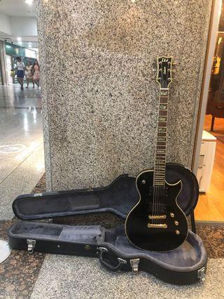 ESP LTD EC-1000 Deluxe Les Paul Shape EMP Pickups Electric Guitar