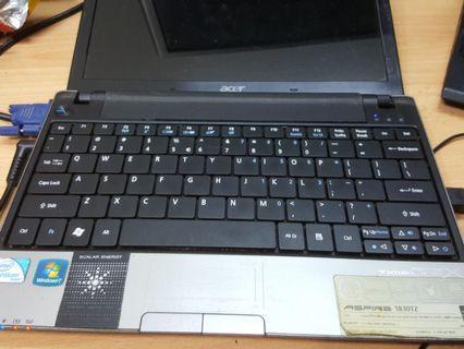 Acer preloved laptop