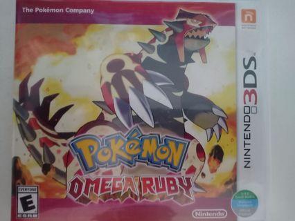 Nintendo DS Pokemon Omega Ruby