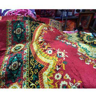 🔴新年必備🧨 早期 收藏 幾何 華貴 花卉 巴洛克 圖騰 織紋 原住民 毛毯 地毯 居家 擺設 懷舊 富貴 裝飾 大