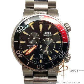 Oris Divers TT1 Meistertaucher Regulateur Automatic Watch